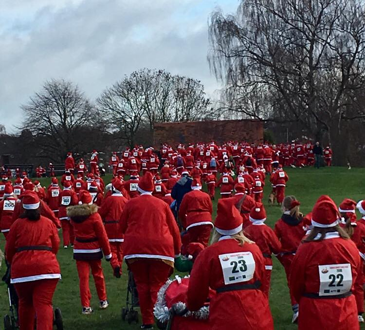KP Events - Charity Santa Dash - Lichfield
