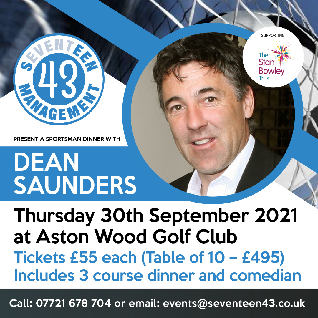 A Sportsman Dinner with Dean Saunders